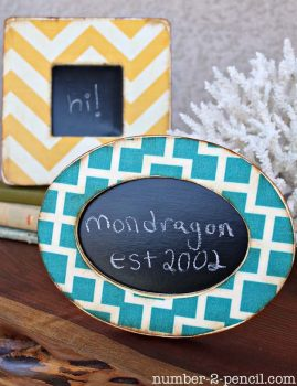 12 DIY Picture Frame Projects6