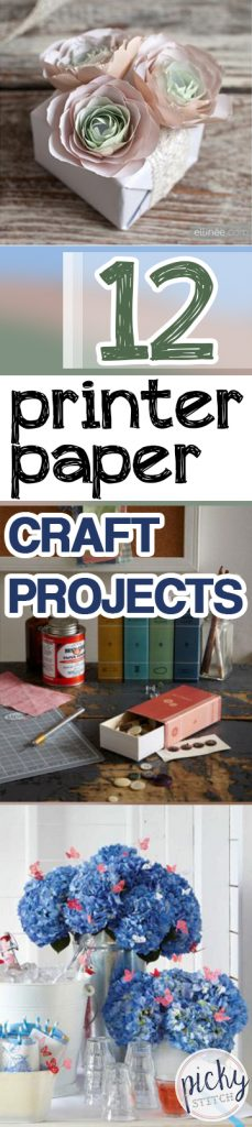 Printer Paper Crafts, Easy Crafts, Crafts Made Out of Paper, How to Craft With Paper, Craft Ideas, Easy Craft Ideas, Crafts for Kids, Quick Craft Ideas, Easy Craft Tutorials