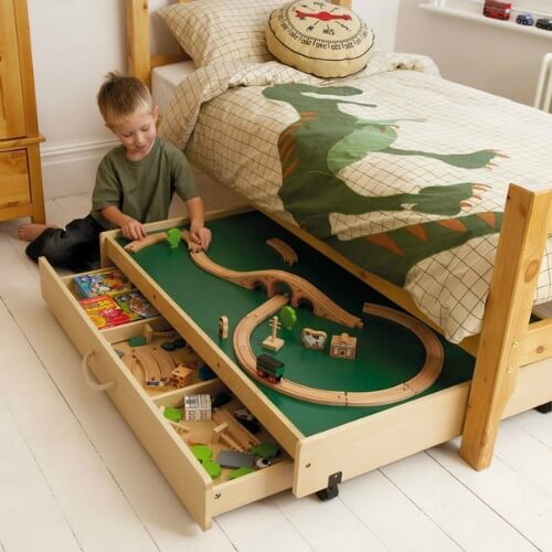 15 Ways to Tame Toy Clutter15