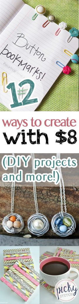 Cheap DIY Projects, Inexpensive Crafts, Cheap Craft Projects, Craft Project Tutorials, Crafting Tutorials, DIY Home Projects, Dollar Store Craft Projects, Popular DIY Pin, Popular Crafting Pin