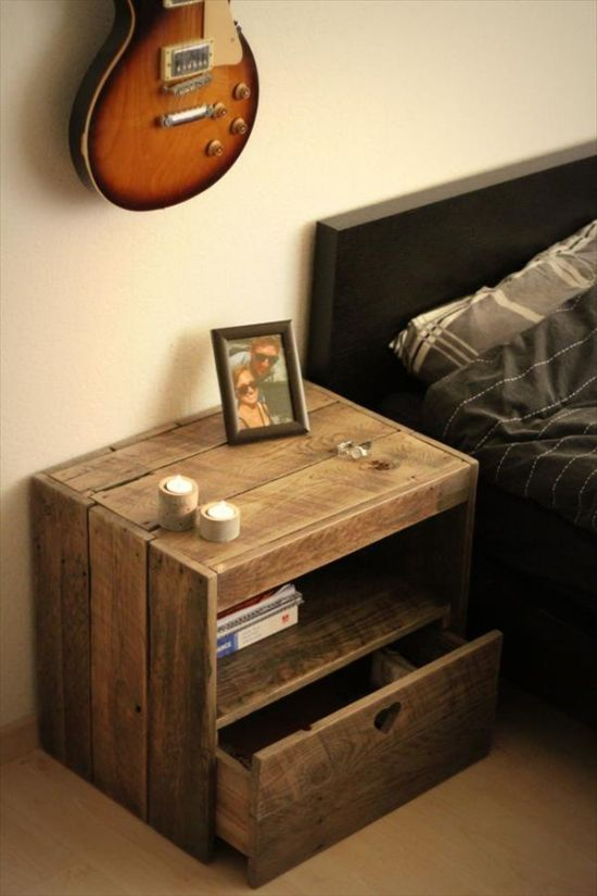 8 Nightstand DIY Projects You Can Make Before Bedtime   Nightstand Projects, DIY Projects, Bedroom DIYs, Bedroom Furniture Projects, Easy Ways to Update Your Bedroom, Fast Bedroom Updates, Tips and Tricks, DIY Nightstands, Fast DIY Nightstand Projects, Popular Pin