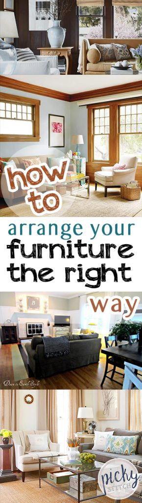 How to Arrange Your Furniture the Right Way - How to Arrange Furniture, Furniture Arrangement Tips and Tricks, DIY Home, Interior Design, Interior Design Tips and Tricks, How to Decorate Your Home, Decorating Your Home