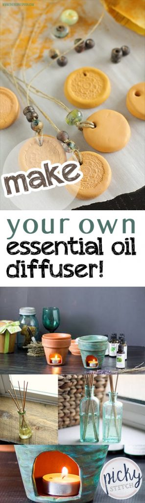 how to make your own essential oil diffuser