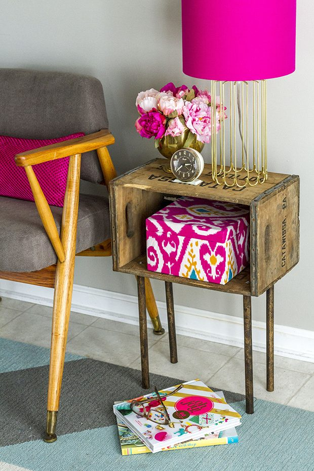 Give Your Old Wooden Crates a Brand New Fate!| Wooden Crates, Wooden Crate Craft Projects, Things to Do With Wooden Crates, Wooden Crate DIY, DIY Home, DIY Home Decor, Repurpose Projects, How to Repurpose Old Wooden Crates, Popular Pin