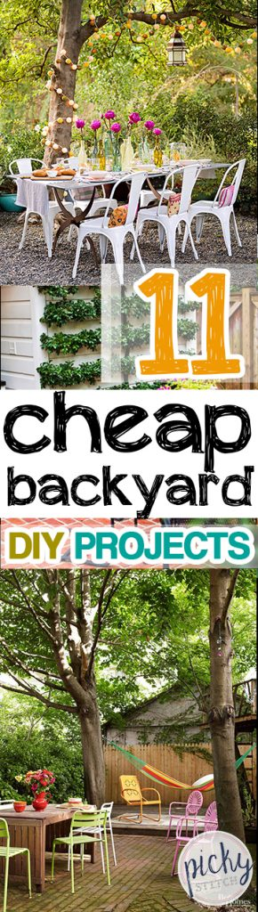 Inexpensive Backyard DIY Projects, Outdoor Projects, Backyard DIY, Cheap Backyard Upgrades, Backyard Projects, Backyard DIY Projects, Outdoor Remodeling Tips and Tricks, Patio Decor, DIY Patio Decor, Yard and Landscaping