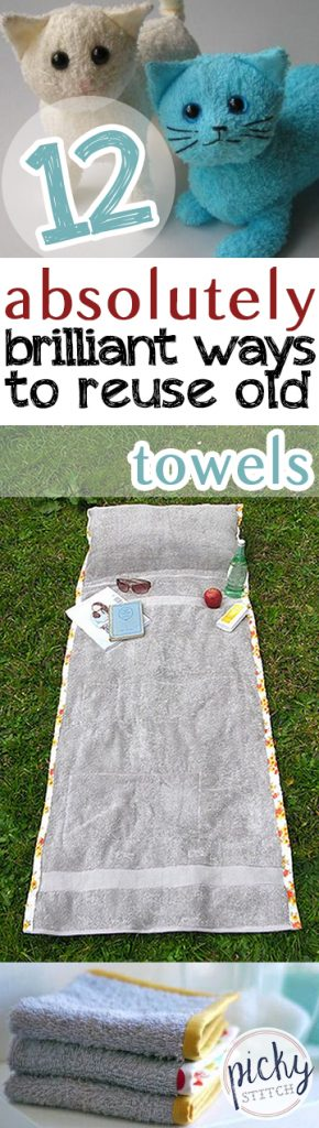12 Absolutely Brilliant Ways to Reuse Old Towels| How to Reuse Towels, How to Repurpose Towels, Towel Crafts, Repurpose Projects, Easy Repurpose Crafts, DIY Crafts, Crafts for the Home, DIY Home, DIY Home Decor, Home Decor Hacks, Popular Pin #Crafts #CraftProjects #EasyCraftProjects