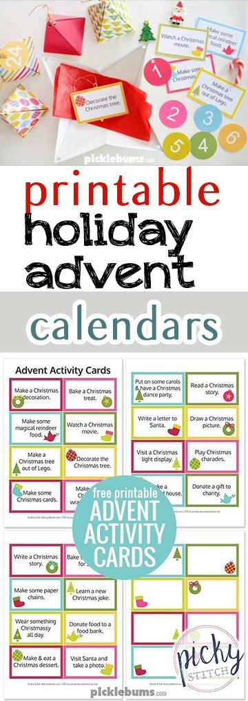 Printable Holiday Advent Calendars  Holiday Advent Calendars, Printable Advent Calendars, Advent Calendar Projects, Printables, Free Printables, Holiday Advent Calendars, DIY Advent Calendars, Holiday Hacks, Popular Pin
