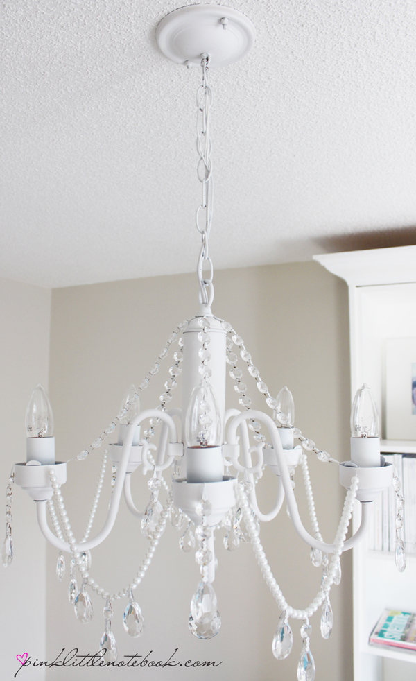 How To Make Your Own Diy Crystal Chandelier Picky Stitch