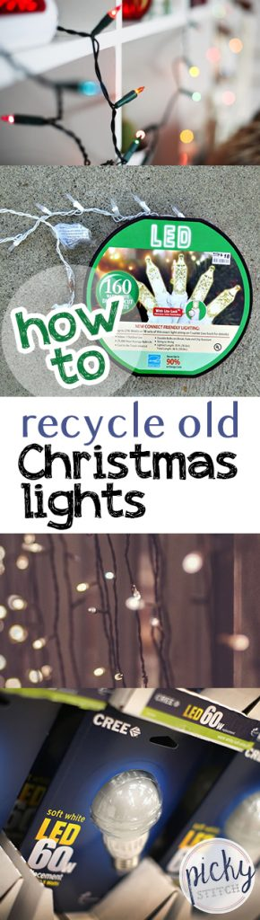 How to Recycle Old Christmas Lights  Recycling, Home Recycling Tips and Tricks, Christmas Light Recycling, Christmas Light Decor, #Christmas #ChristmasLights