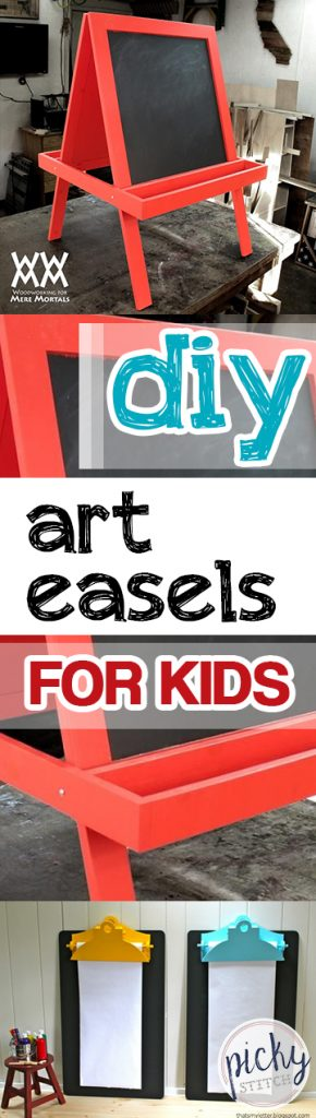DIY Art Easels for Kids| Art Easels for Kids, Kid Crafts, DIY Crafts for Kids, Art Easels for Kids, DIY Crafts, DIY Projects, DIY Projects for Kids, Popular Pin #CraftsforKids #DIYProjects #DIYKidStuff