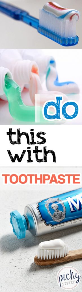 Do This With Toothpaste  Toothpaste, Toothpaste Hacks, Life Hacks, Tips and Tricks, Cleaning Tips and Tricks, Cleaning HAcks, Cleaning 101 #Cleaning101 #Toothpaste