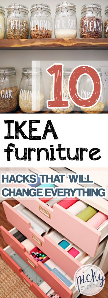 10 IKEA Furniture Hacks That Will Change Everything | IKEA Furniture Hacks, IKEA Furniture Makeovers, Furniture Hacks, DIY Home, Home Decor, Home Decor Ideas, DIY Project