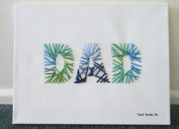 Celebrate Father's Day with one of these cute and adorable string art crafts for kids! Dads deserve some recognition and you can show them some with these string art crafts! He will love them!