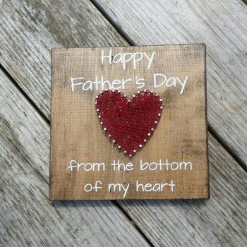 Celebrate Father's Day with one of these cute and adorable string art crafts for kids! Dads deserve some recognition and you can show them some with these string art crafts! Don't miss out!