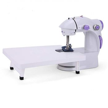 handheld sewing machine with extension table