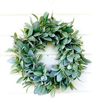 Lambs Ear Wreaths | Eucalyptus Wreaths | Lambs Ear and Eucalyptus Wreaths | Wreaths | Wreaths for the Holidays | Holiday Wreaths | DIY Wreath Ideas