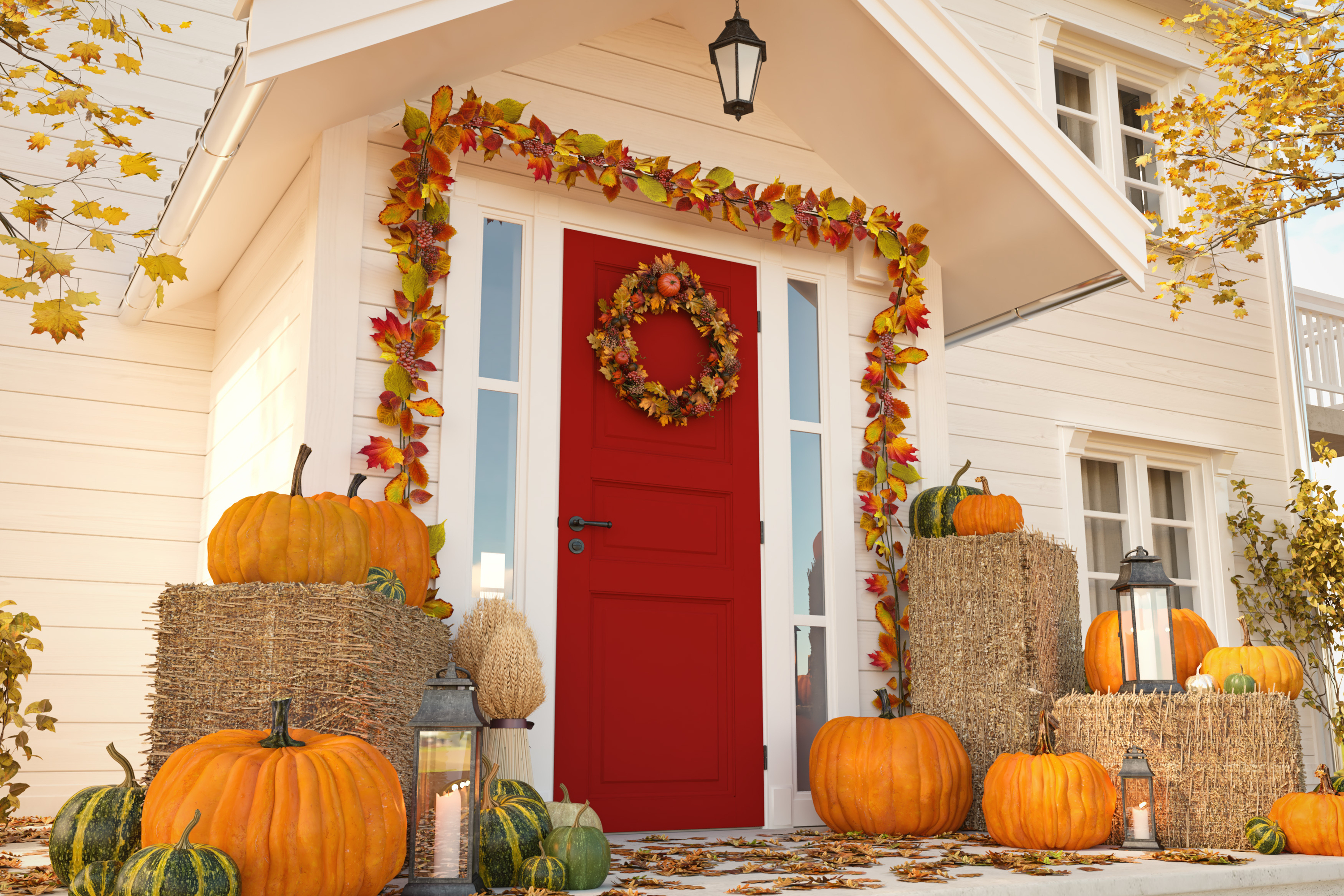 fall porch decorating | fall porch decor ideas | fall | porch | decor | porch decor | fall decor