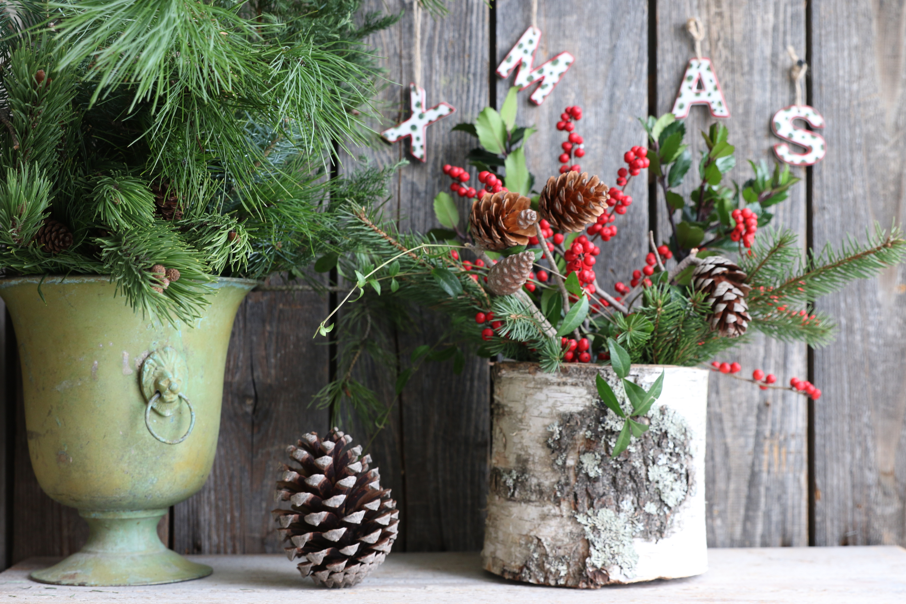 Are you in need of a centerpiece this holiday season? Why not make one out of birch wood? These birch wood Christmas decor ideas are so cute and easy to make. Birch Christmas Craft Decorations
