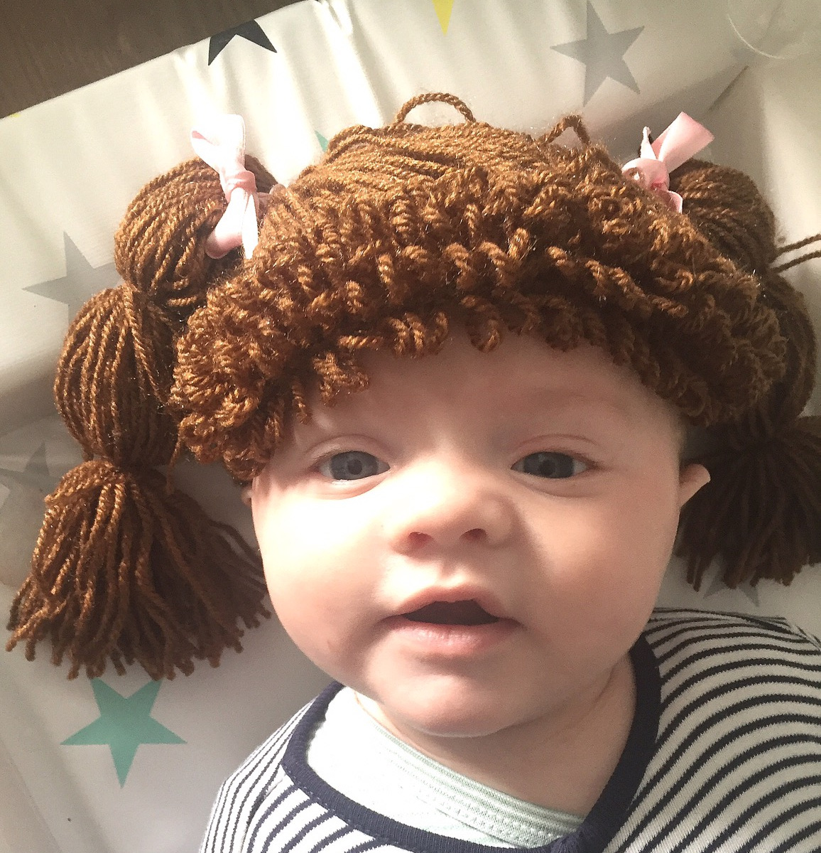 If you want to have your kid look like an adorable cabbage patch doll, check out these ideas on how to make your own crochet cabbage patch wigs. We have the best cabbage patch doll wig ideas!