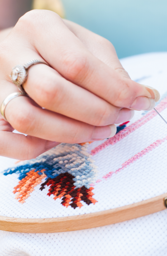 Learning embroidery stitches for beginners is a great way to pass the time while we are all adjusting to the new social distancing rules. There are so many neat things to personalize with embroidery, and these stitch tutorials will help you do exactly that. You will love what you can create.