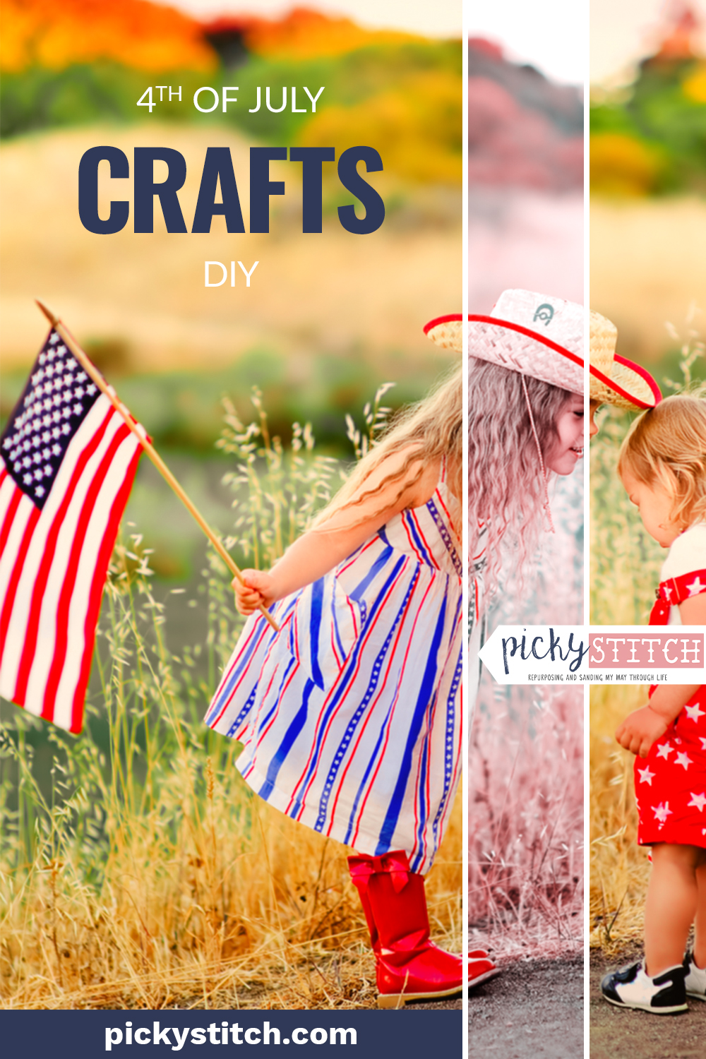 Corrugated metal is the perfect material for all of your 4th of July crafts. Rustic-looking and sturdy, corrugated metal will hold up for years to come so that you can enjoy it every holiday. Take a look at this write up for some incredible corrugated metal 4th of July crafts. #crafts #holidaycrafts #pickystitchblog