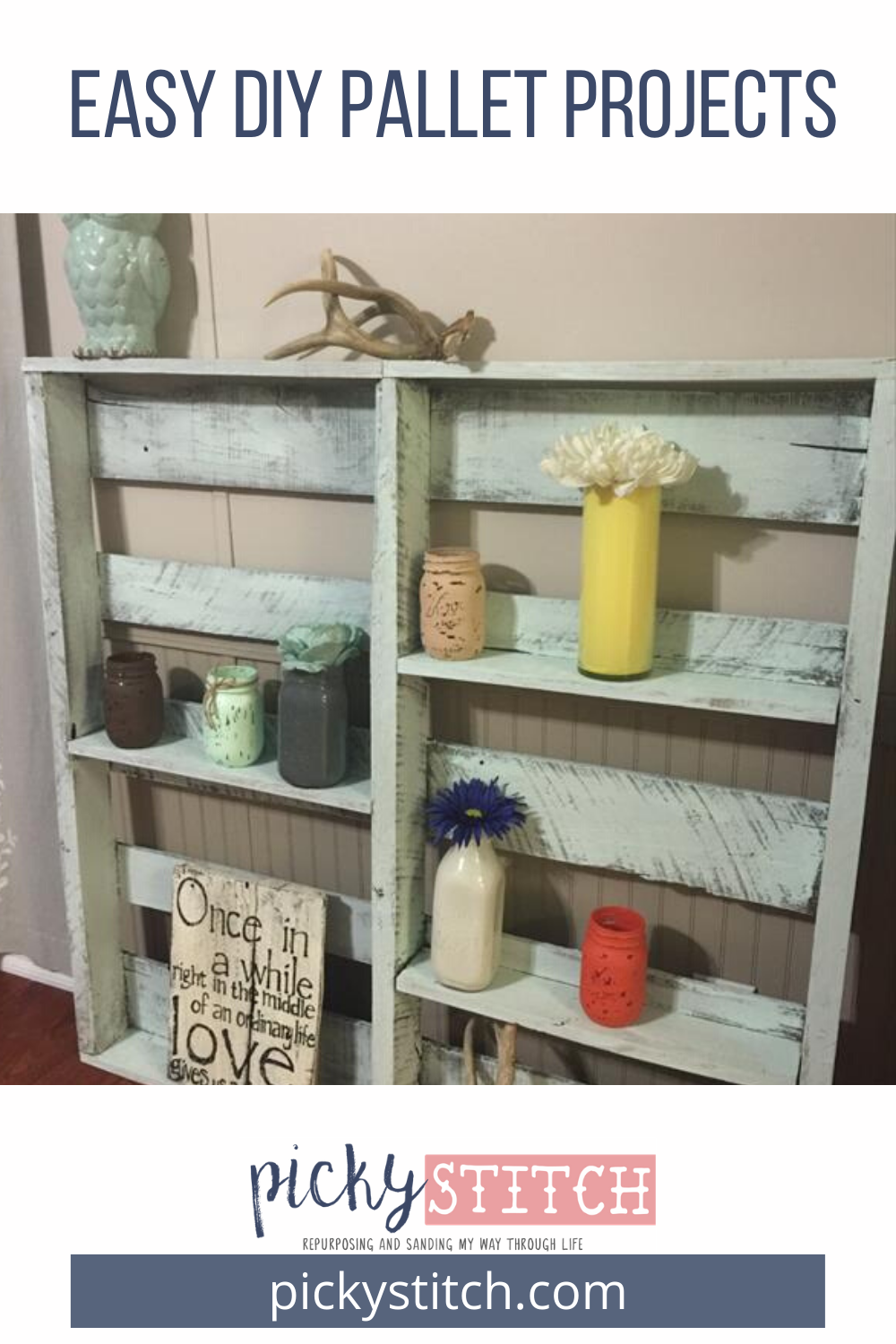 Diy Pallet Projects Easy Simple Furniture Decor Shelves And More