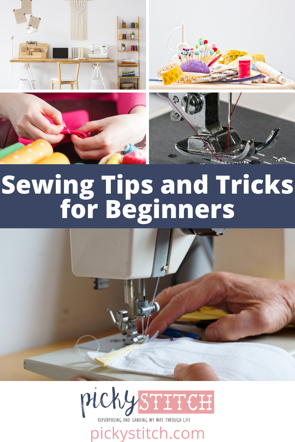 "Caution: don't read this blog if you like doing things the hard way! Because these 15 sewing tips and tricks make sewing easy. ""Sew"" easy, in fact, you'll wonder why it took you so long to find this great post! #sewinghacks #seweasy"