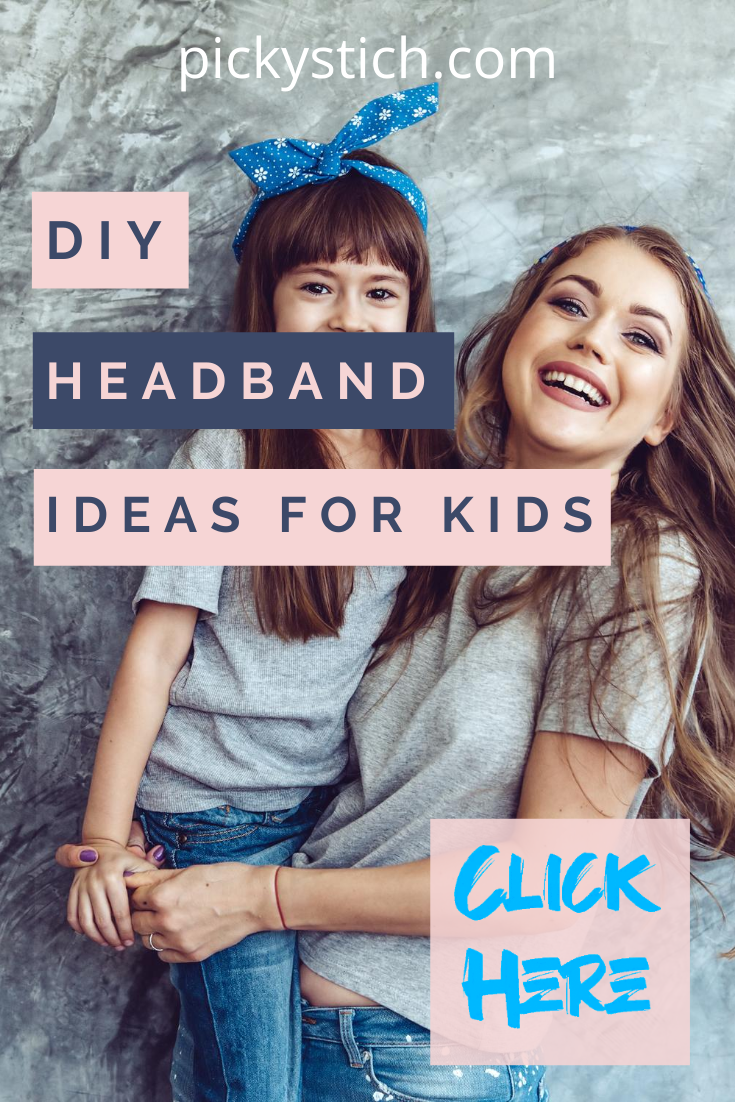 Headbands make great accessories and these 10 ideas are ones you have to see! #pickystitchblog #diyheadbands #headbandtutorial