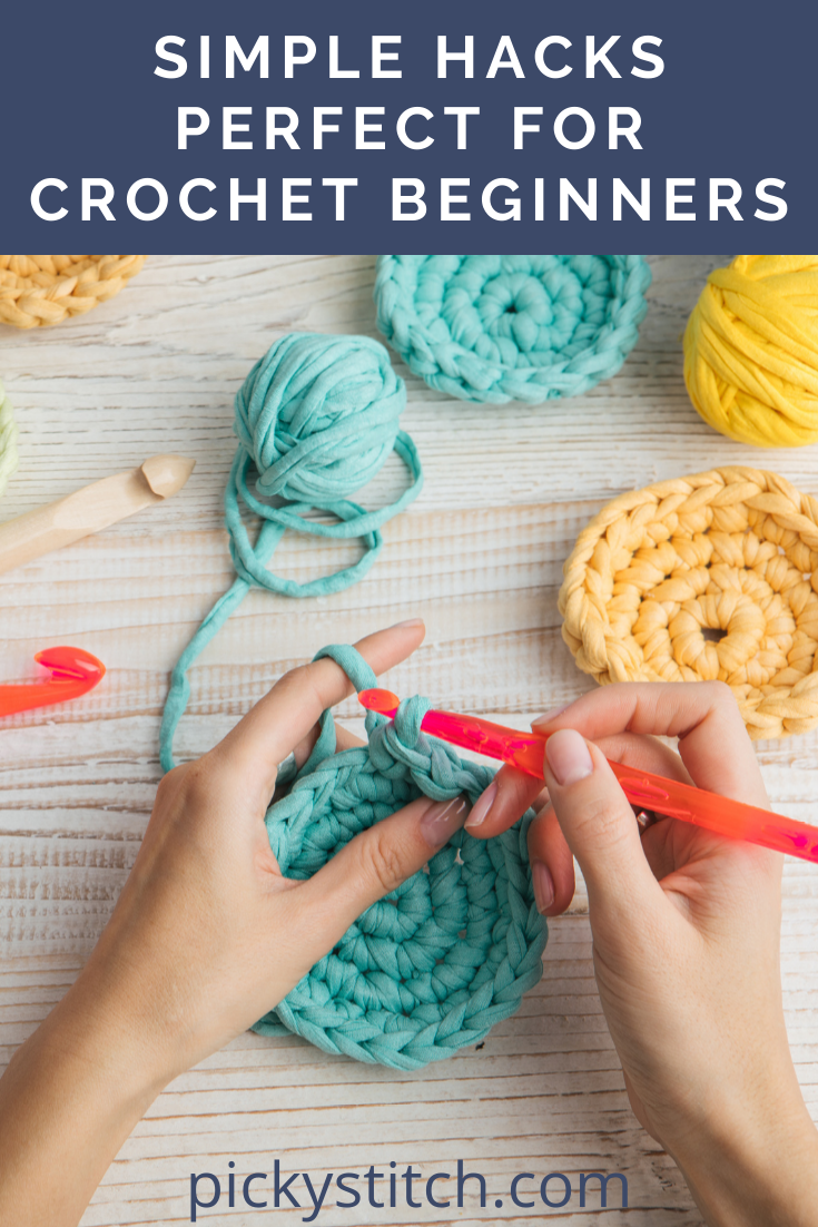 Pickystitch.com is your destination for all things DIY! Find loads of fun and creative projects to keep your hands busy! Don't miss out on these 10 simple crochet hacks perfect for beginners!