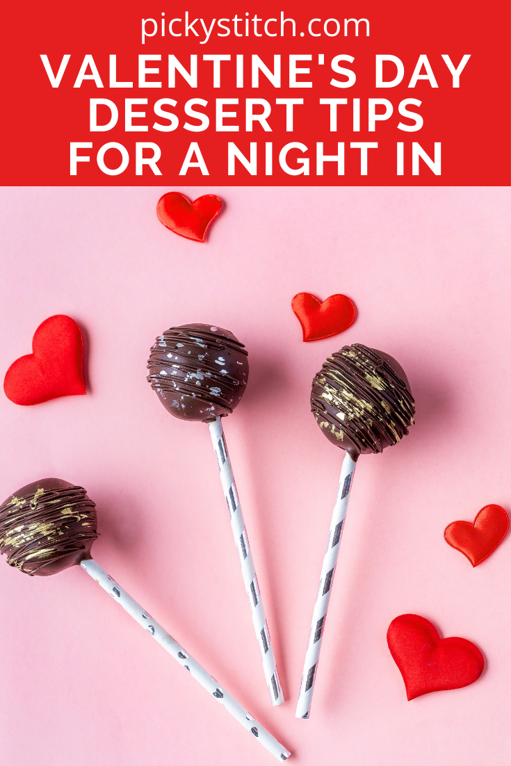 Pickystitch.com is the hottest spot for all things creative and crafty! Crafts don't have to be limited to non-edible activities, though! Check out these dessert tips that are perfect for a romantic Valentine's Day.