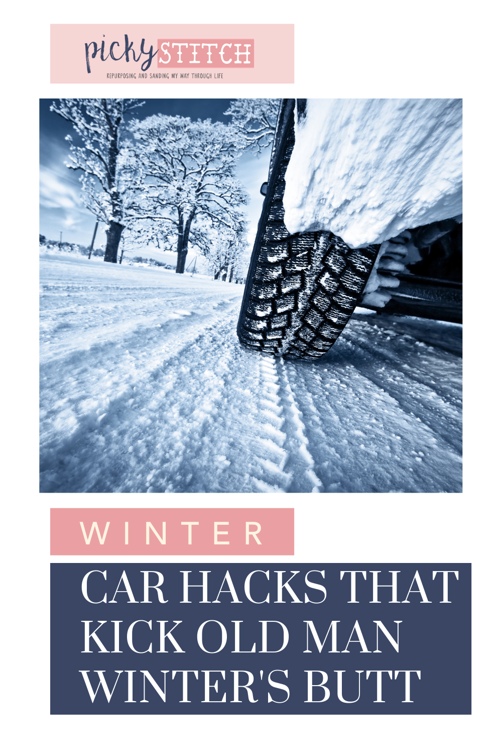 Winter can be a challenge, but these winter car hacks from Pickystitch.com make taking on winter a lot easier.