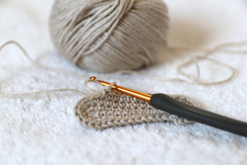 You need a darning needle for crocheting