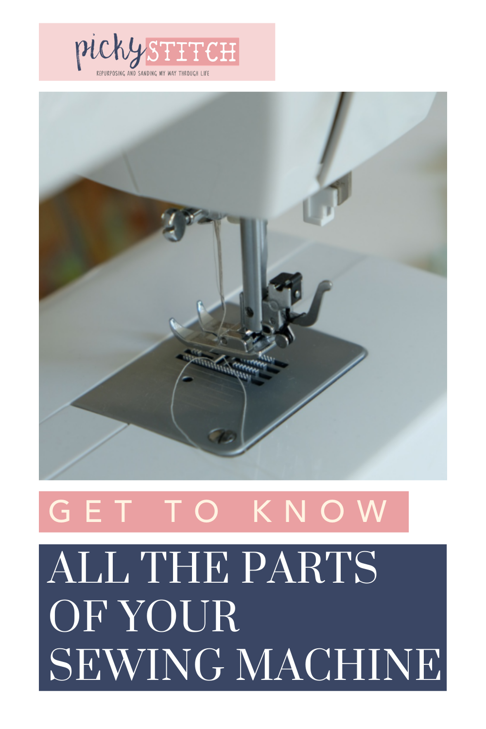 Pickystitch.com has all the best ideas to put the fun into craft projects! If you have a sewing machine, you might be overwhelmed by all of its functions. Check out this simple guide to learn the parts of your sewing machine now!