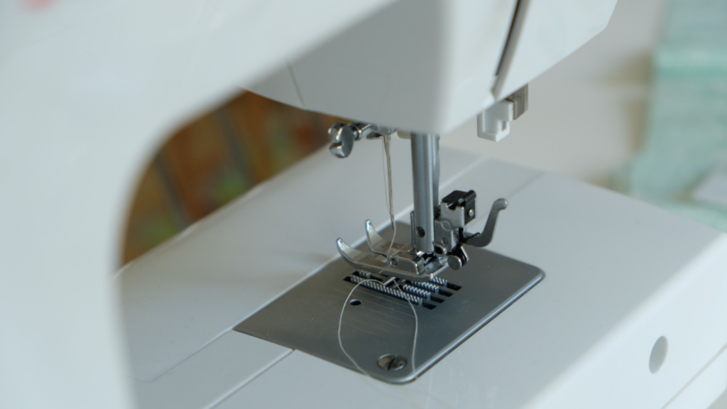 Get familiar with different parts of a sewing machine