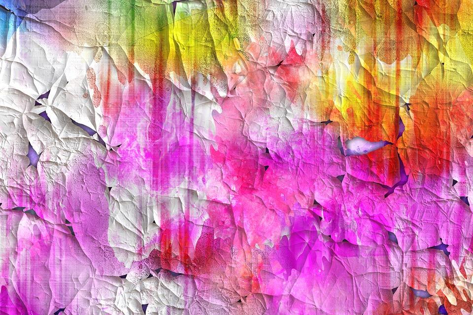 Crackle paint
