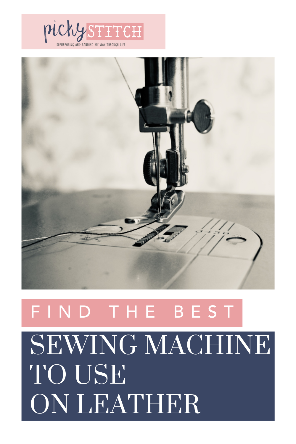 Pickystitch.com is the mecca of crafts! Find project ideas, tips, and more! Get started by learning the best sewing machine to use for your leather sewing projects!