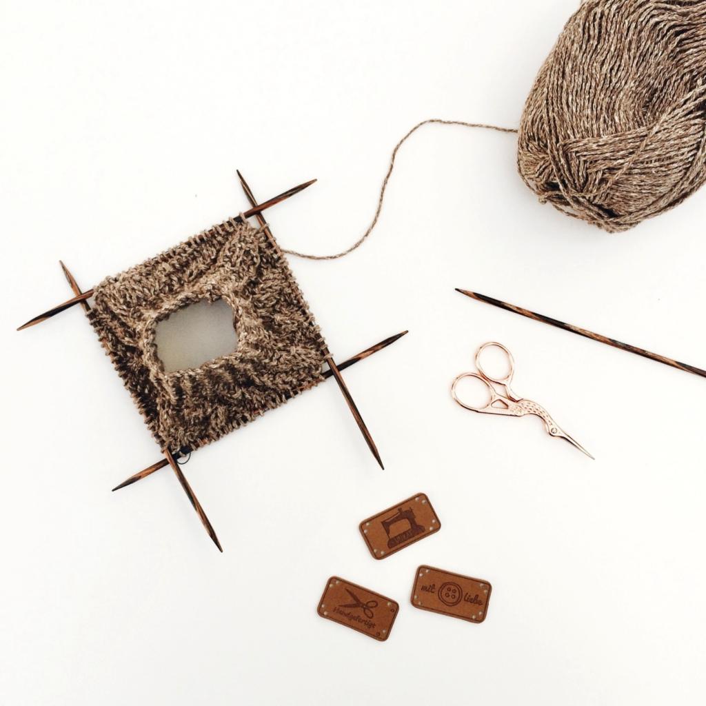 Types of scissors for knitting