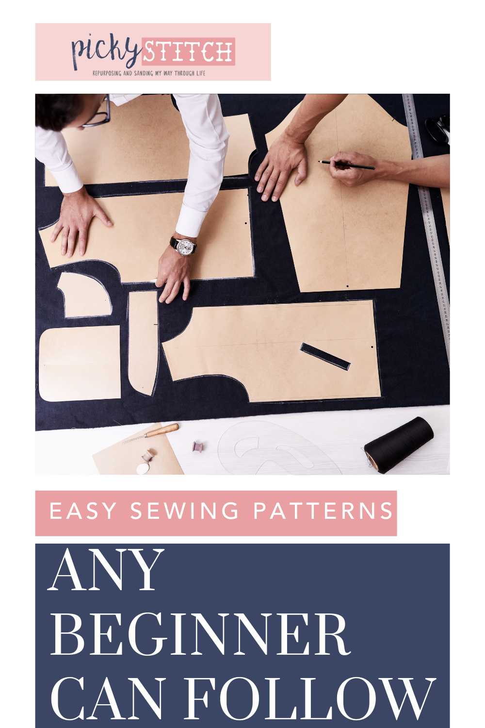 Pickystitch.com is loaded with tips and ideas to help you tackle any DIY project. Thinking about getting into the world of sewing? Find the best simple patterns you'll need to get started!