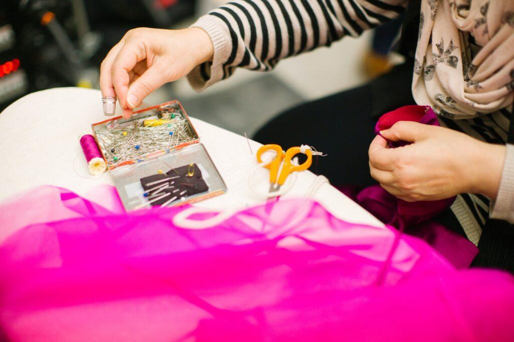 Creating sewing patterns